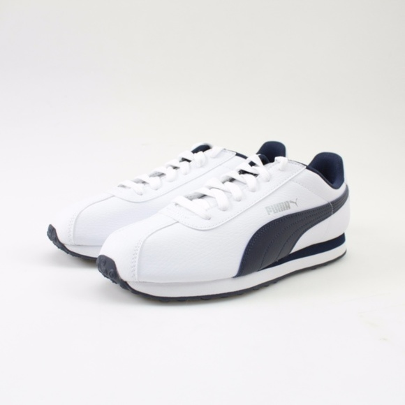 Turin White Peacoat Sneakers Size 75